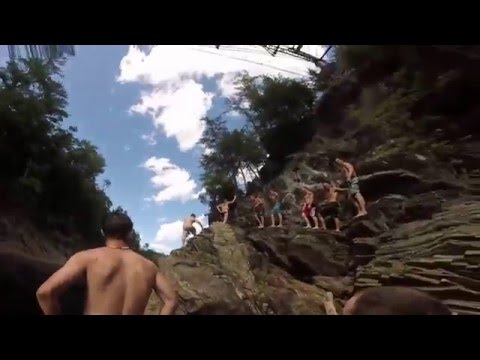 Livermore Falls Cliff Jumping
