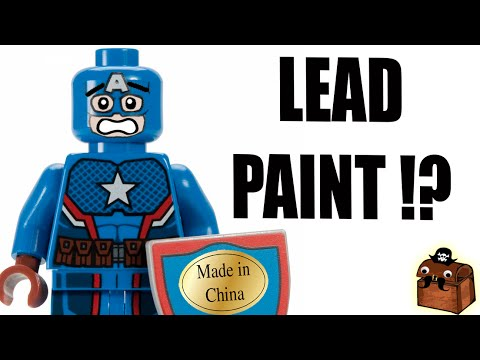 Are Knockoff LEGO Minifigures Safe? - YouTube