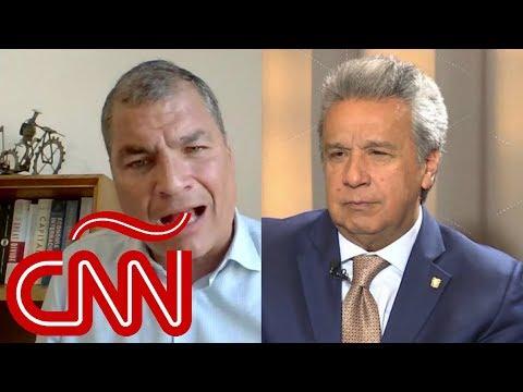 Lenín Moreno en Aristegui: Al final del Gobierno de Rafael Correa todo se volvió un poco siniestro