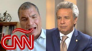 Lenín Moreno en Aristegui: Al final del gobierno de Rafael Correa todo se volvió siniestro