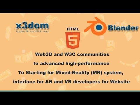HTML 5 Web3d : high-performance 3D Model On website