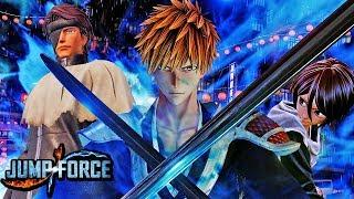 NEW JUMP FORCE BLEACH HD SCREENSHOTS! Jump Force Bleach Characters - Ichigo, Rukia, Aizen Screens HD