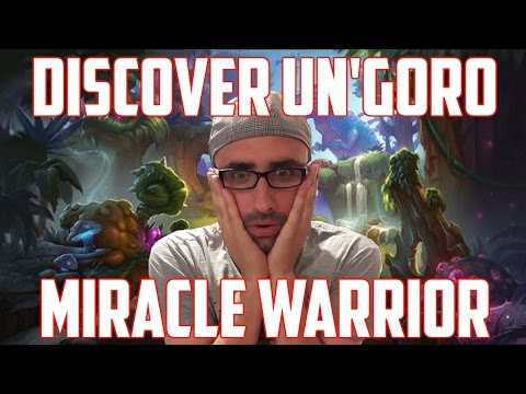 Hearthstone ITA: Miracle Discover Warrior [Un'Goro]