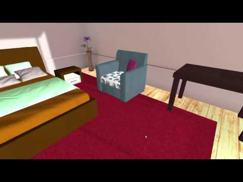 VR мебель - расстановка мебели в виртуальной реальности