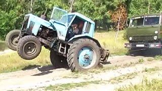 Як трактор, Камаз витягав