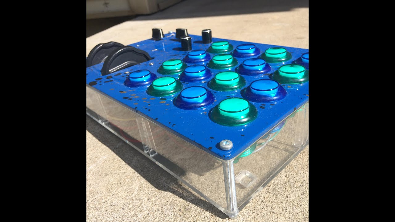 Musician Builds Awesome Arduino-Powered MIDI Controller