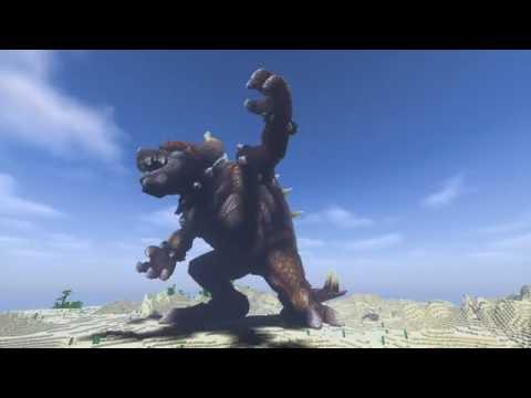 Minecraft Giga Bowser Build Mario