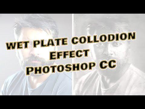 Wet Plate Collodion Effect Tutorial -  Photoshop CC