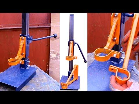 видео: Самодельная стойка для дрели своими руками.Часть1.homemade drill press