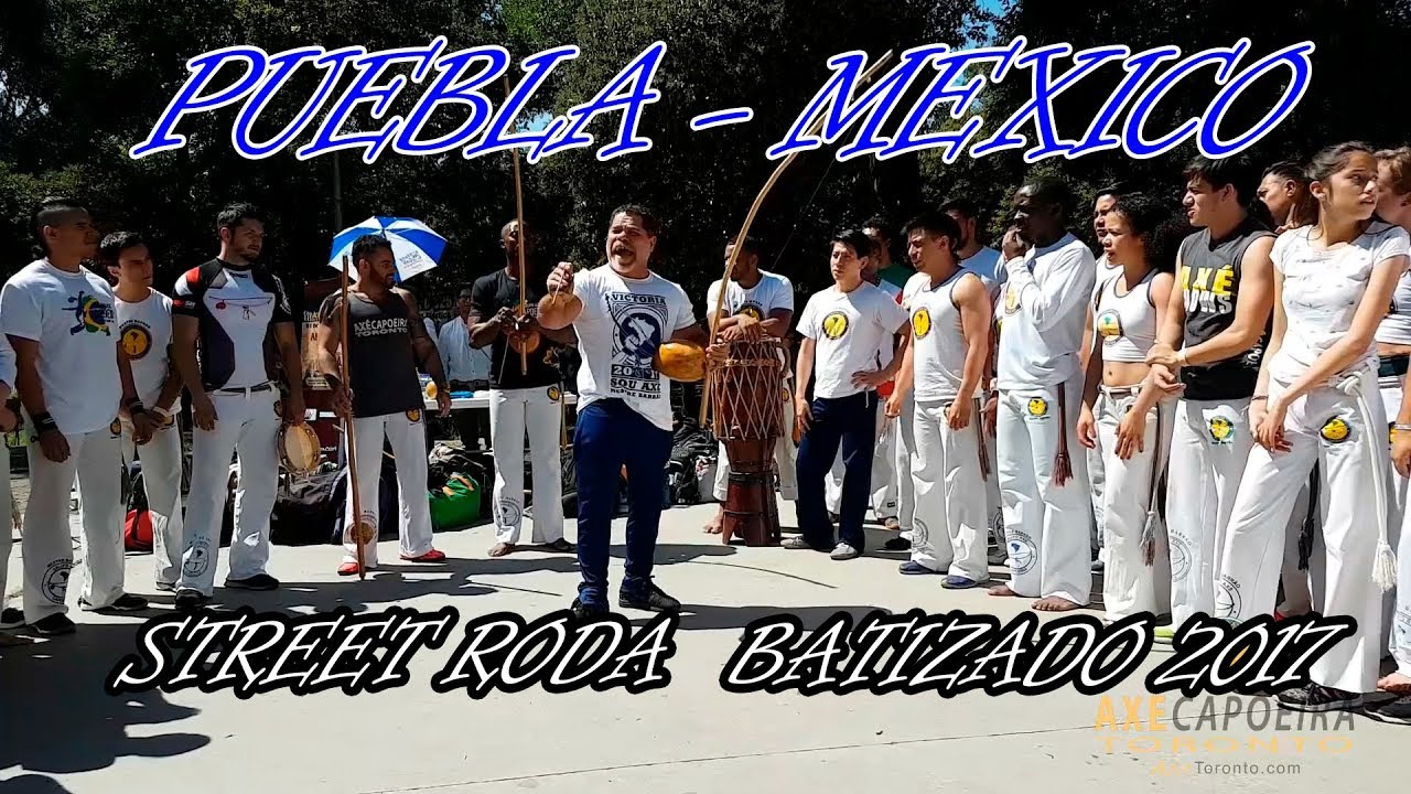 Saturday RODA de Rua | Axe Capoeira Mexico 2017