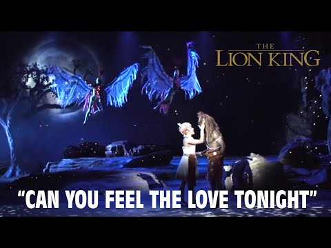 HD Can You Feel The Love Tonight - The Legend of the Lion King