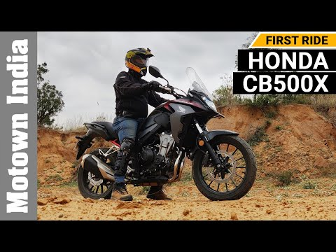 2021 Honda CB500X Adventure motorcycle | First Ride | Motown India