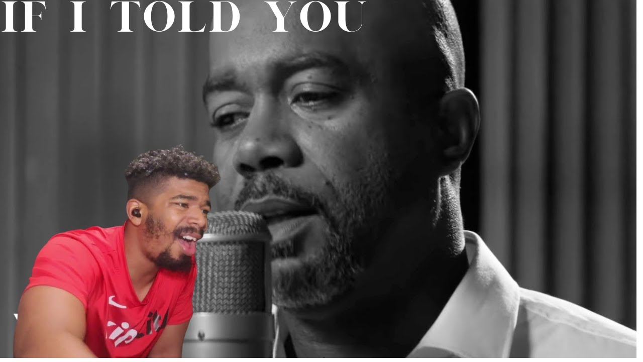 Darius Rucker - If I Told You (Country Reaction!!)