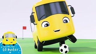 Buster Plays Soccer Song | Go Buster! | Bus Cartoons for Kids! | Funny Videos & Songs
