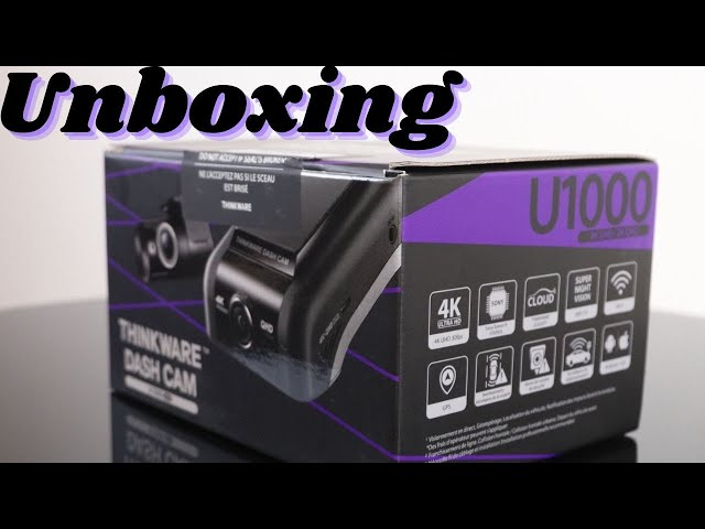Thinkware U1000 4k Dash Camera Unboxing & Overview