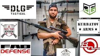ГОРЫ ПУШЕК на ARMS & HUNTING 2018! DLG Tactical, KurbatovArms, Custom Guns, FAB Defense, Молот АРМЗ