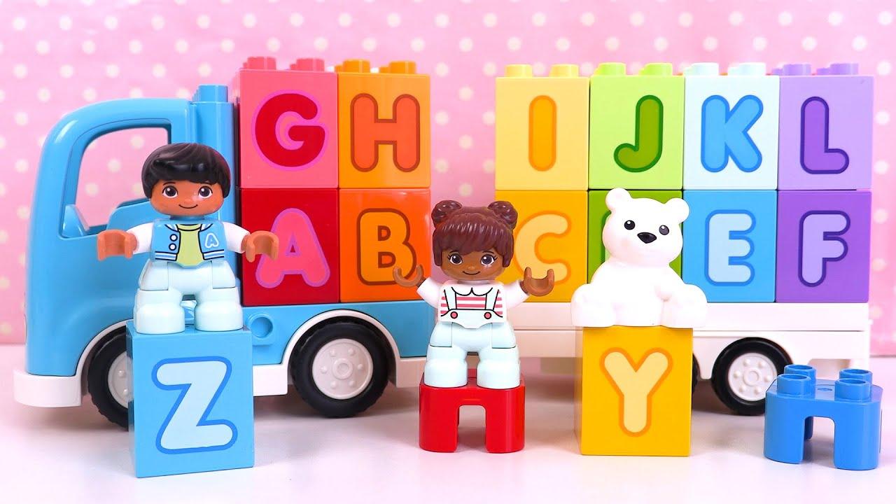 Apprendre l'Alphabet Lego Duplo