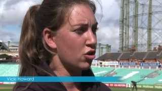 Vicki Howard | Surrey Women | Cricket Club Insurance | Aston Scott