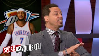 Carmelo Anthony, Russell Westbrook and Paul George - Can they coexist | SPEAK FOR YOURSELF