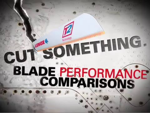 Slingshot Tools shares the 618G Lenox reciprocating saw blade - Unistrut Metal cutting comparison