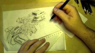 ♦ Zooc Draws - Battlecruiser