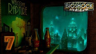 BioShock: Remastered [60FPS] прохождение на геймпаде часть 7 Старина Персик