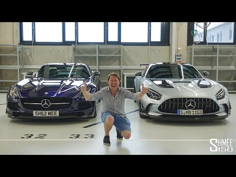 MY FUTURE GARAGE? SLS BS Meets New AMG GT Black Series