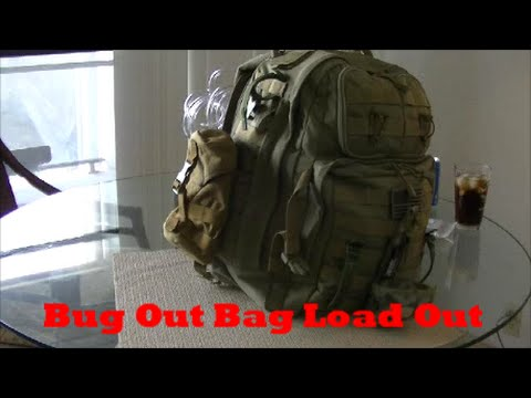 Bug Out Bag; Load Out