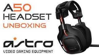 ASTRO A50 Unboxing - Wireless 7.1 Gaming Headset + MixAmp - DE