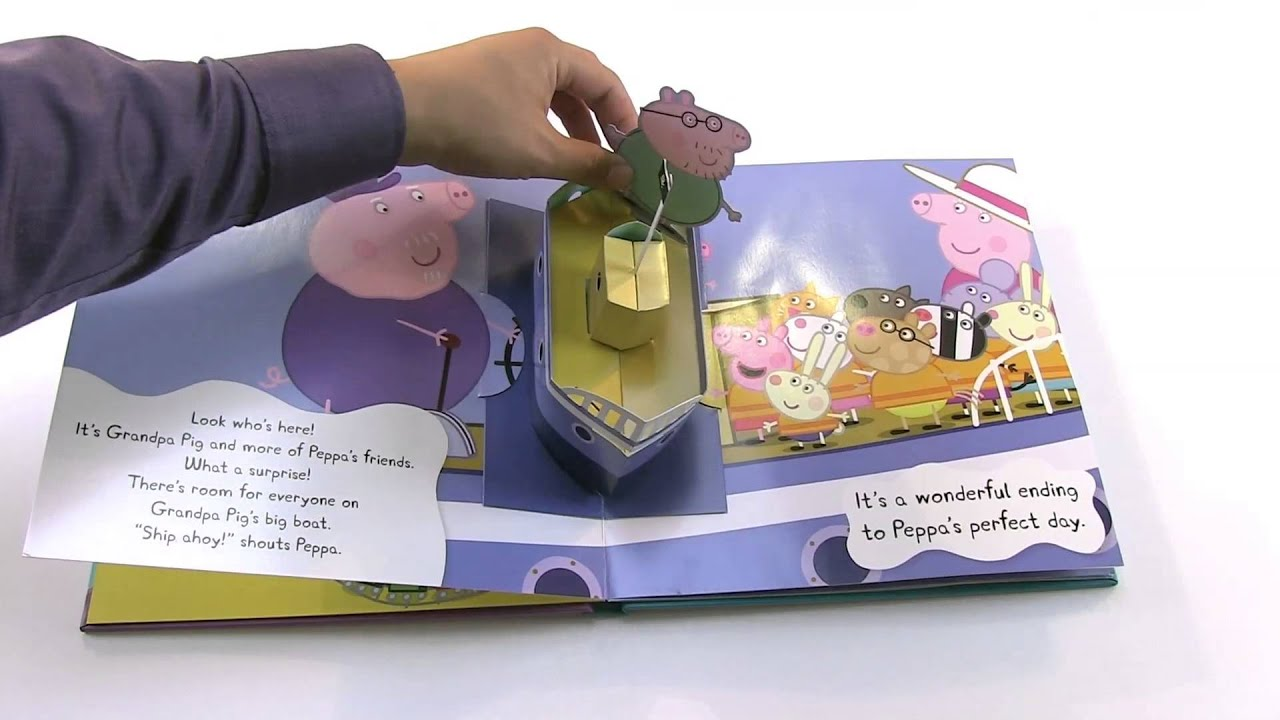 peppa pig and the perfect day virtual book video youtube