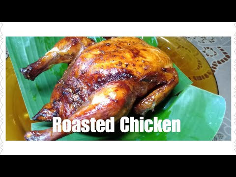 Roasted Chicken With Tomato & Onion