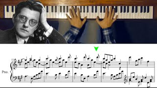 A Piano Piece with Perfect Harmony (Fugue in A Major by Dmitri Shostakovich)