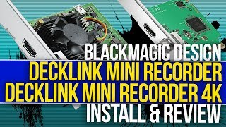 How To Make Your Live Stream Better | BlackMagicDesign Decklink Mini Recorder - Capture Cards
