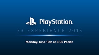 PlayStation E3 EXPERIENCE - 2015 Press Conference - US English