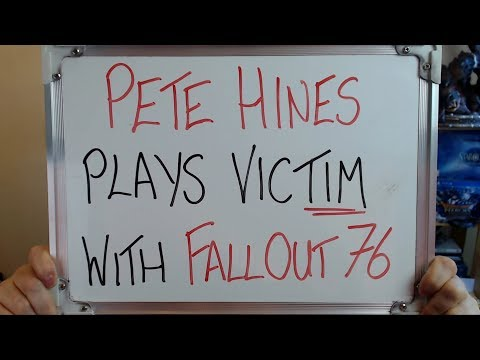 PETE HINES Plays VICTIM with FALLOUT 76!!! - YouTube