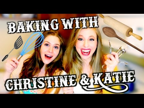 BAKING WITH CHRISTINE AND KATIE | BLINTZES