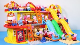 Lego House With Water Slide Building Toys - Lego Creations Toys For Kids #3