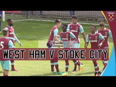 PREMIER LEAGUE 2 HIGHLIGHTS: West Ham United vs Stoke City