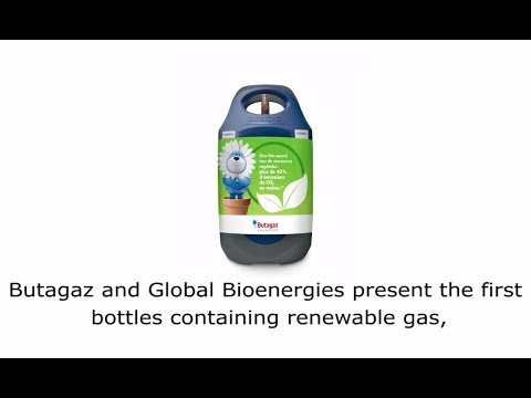 Butagaz and Global Bioenergies present the first bottles of bio-sourced gas