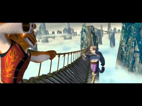 Kung Fu Panda Tigress & Furious Five bridge fight scene (1080 HD)