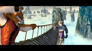 Kung Fu Panda Tigress bridge fight scene