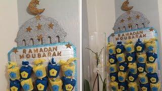 تحضيرات رمضان يومية رمضان للاطفال Calendrier du Ramadan pour les enfants