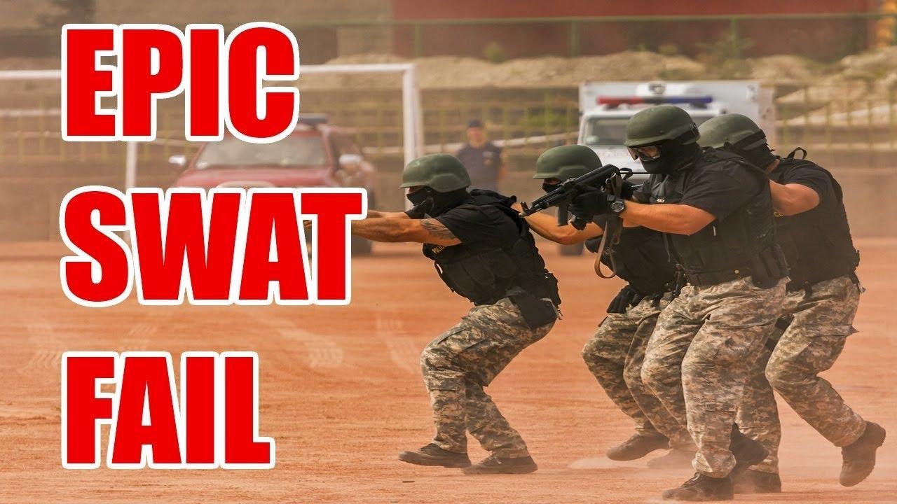 Worst SWAT Team Raid Ever - YouTube