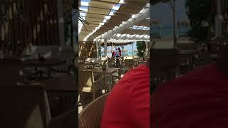 Обед в пляжном Кафе Отеля Джаз Аквамарин Хургада Египет 2021