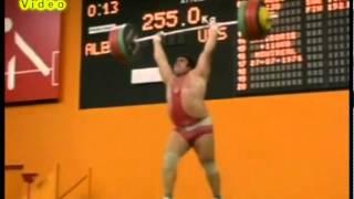 Vasiliy Alekseyev - Clean and Jerk 562.2lb / Василий Алексеев толчок 255 кг
