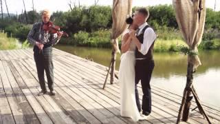 Виталий и Полина 03 08 2013 Свадьба в стиле Rustic