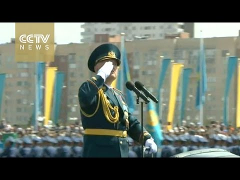 Kazakhstan holds military parade to mark 70th anniversary of WWII victory day