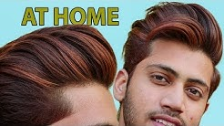 Highlight Men Hairs At Home in JUST 70 RS | Hair Highlighting 2019