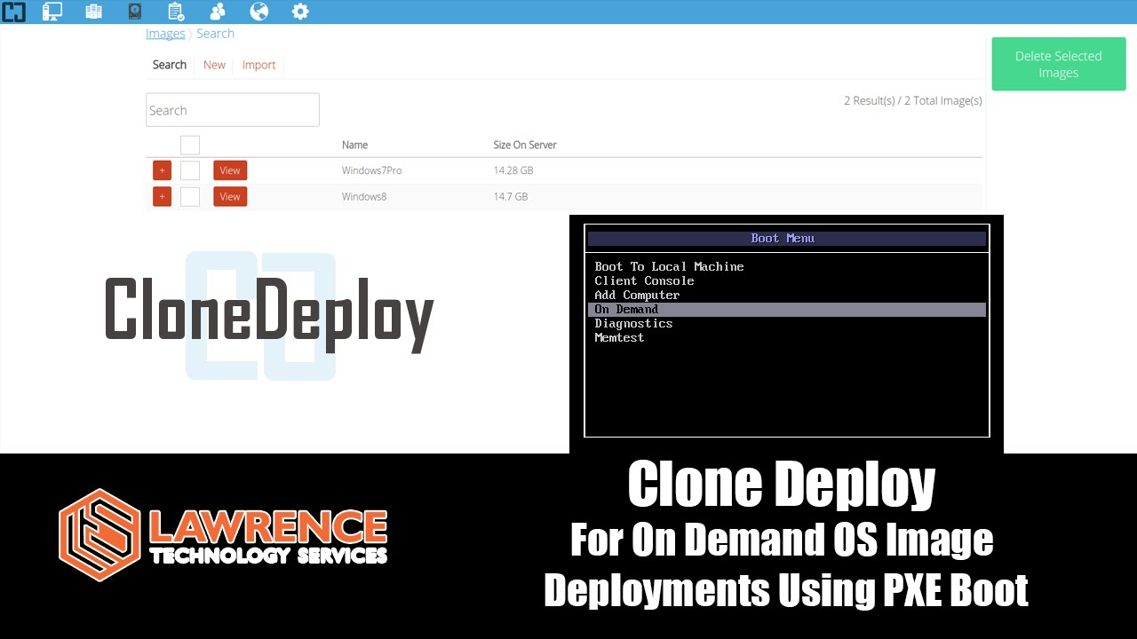 CloneDeploy OnDemand OS Imaging using PXE running on FreeNAS