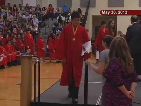 John J Lukancic Middle School 8th Grade Promotion Ceremony 2013